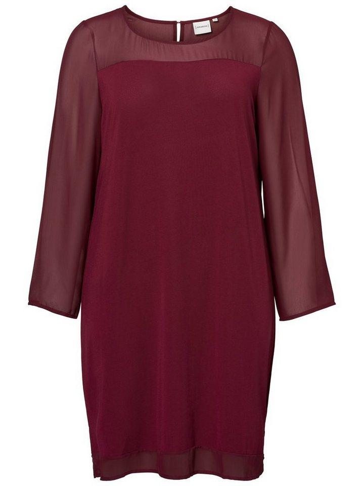 Junarose Met lange mouwen jurk paars