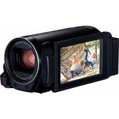 canon hf-r86 zwart 1080p (full hd) camcorder, wifi, nfc schwarz
