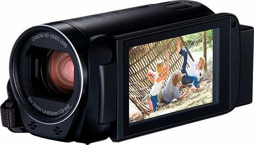 Canon HF-R86 zwart 1080p (Full HD) camcorder, wifi, NFC veilig op otto.nl kopen