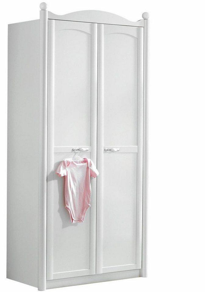 Garderobekast 2-deurs Amalfi