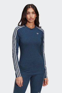 adidas originals shirt met lange mouwen »long sleeve tee« blauw