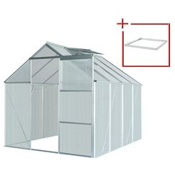 konifera set: tuinkas »florenz«, bxdxh: 190x253x195 cm, 4 mm