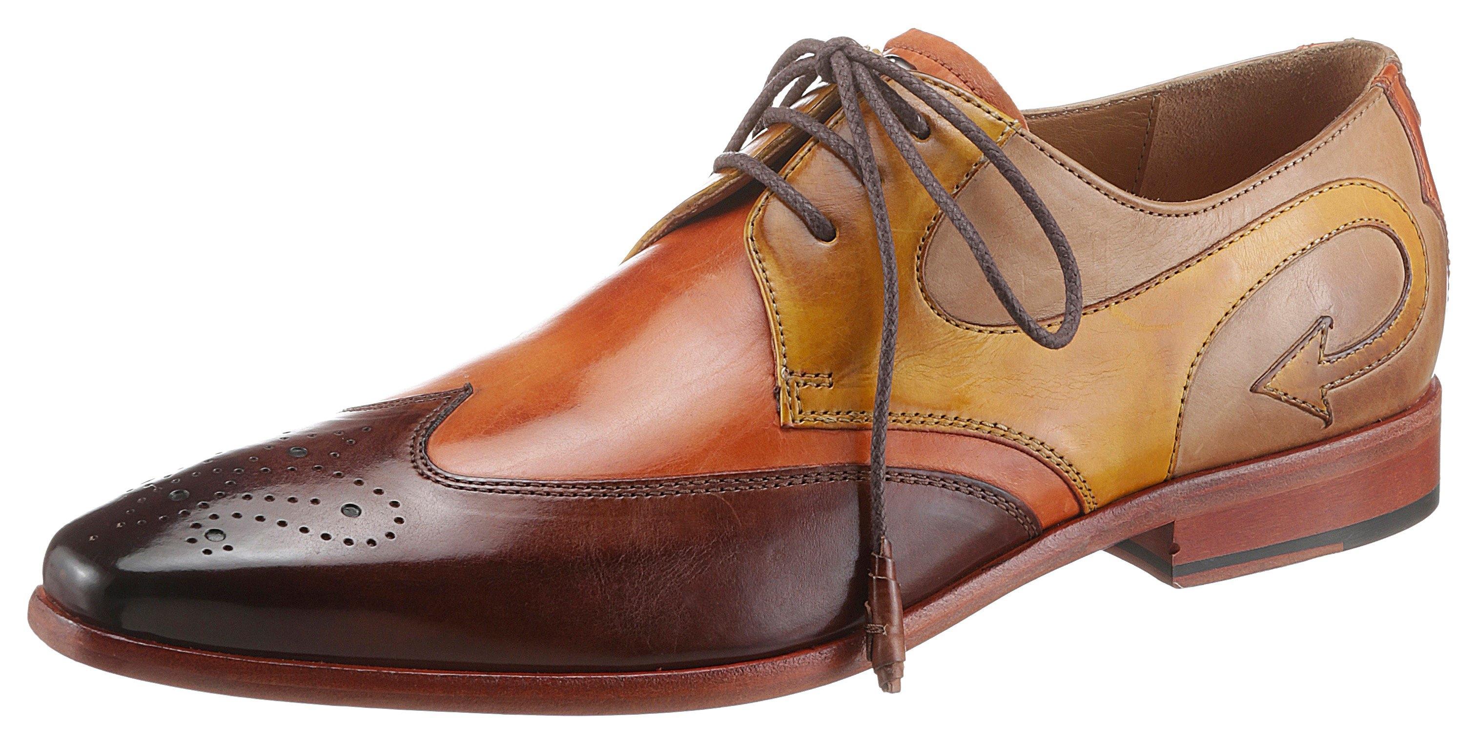 Melvin & Hamilton schoenen met perforatie Elvis 63 duurzaam met verborgen doodskop-stud veilig op otto.nl kopen