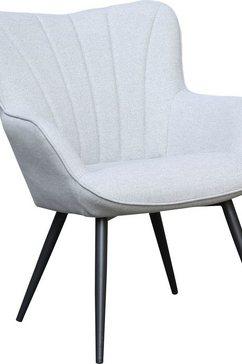 homexperts fauteuil lexi fauteuil met siernaad achter grijs