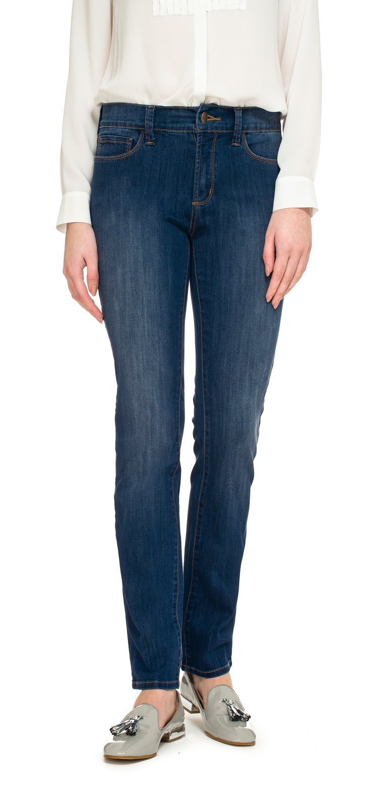 NYDJ slim fit jeans Van premium-denim Samantha slim bij OTTO online kopen