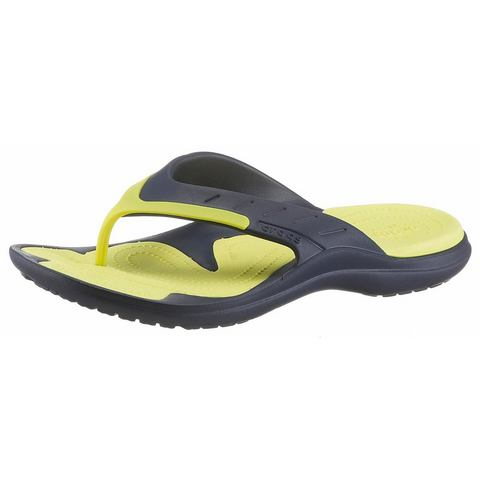 Crocs Flip Flops Navy-Tennis Ball Green MODI Sport