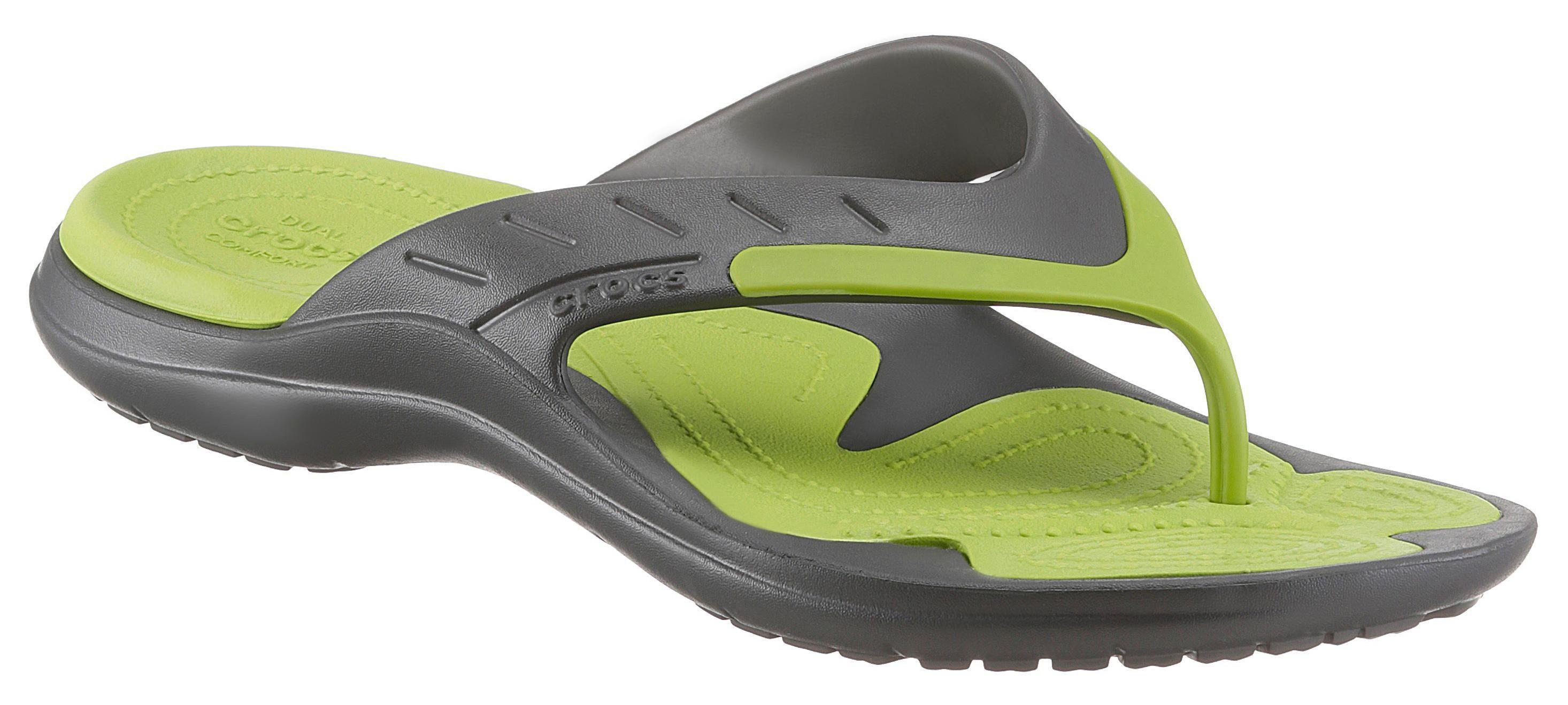 Modes Flip Pantoufle Crocos Sport Pour Hommes - Noir BdwW8HX