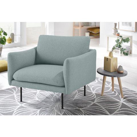 andas fauteuil Mavis met los zit- en rugkussen, Scandinavische stijl