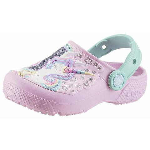 Crocs Klompen Ballerina Pink-New Mint Crocs Fun Lab s