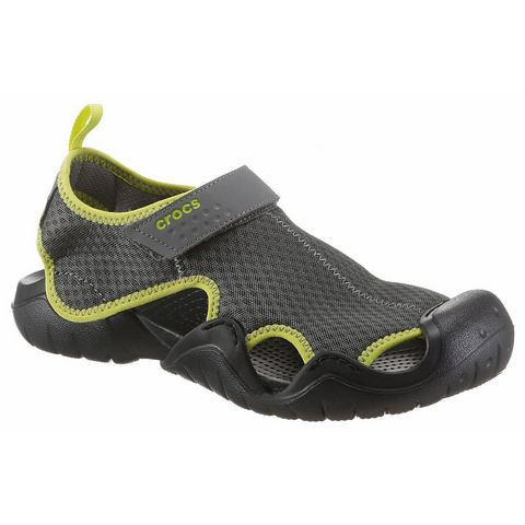Crocs Instappers Slate Grey-Tennis Ball Green Swiftwater