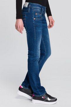 herrlicher rechte jeans pitch straight organic milieuvriendelijk dankzij kitotex technology blauw