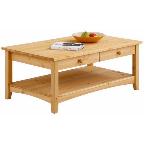 Home affaire salontafel Tommy, met legplank en praktische laden in 3 verschillende kleuren
