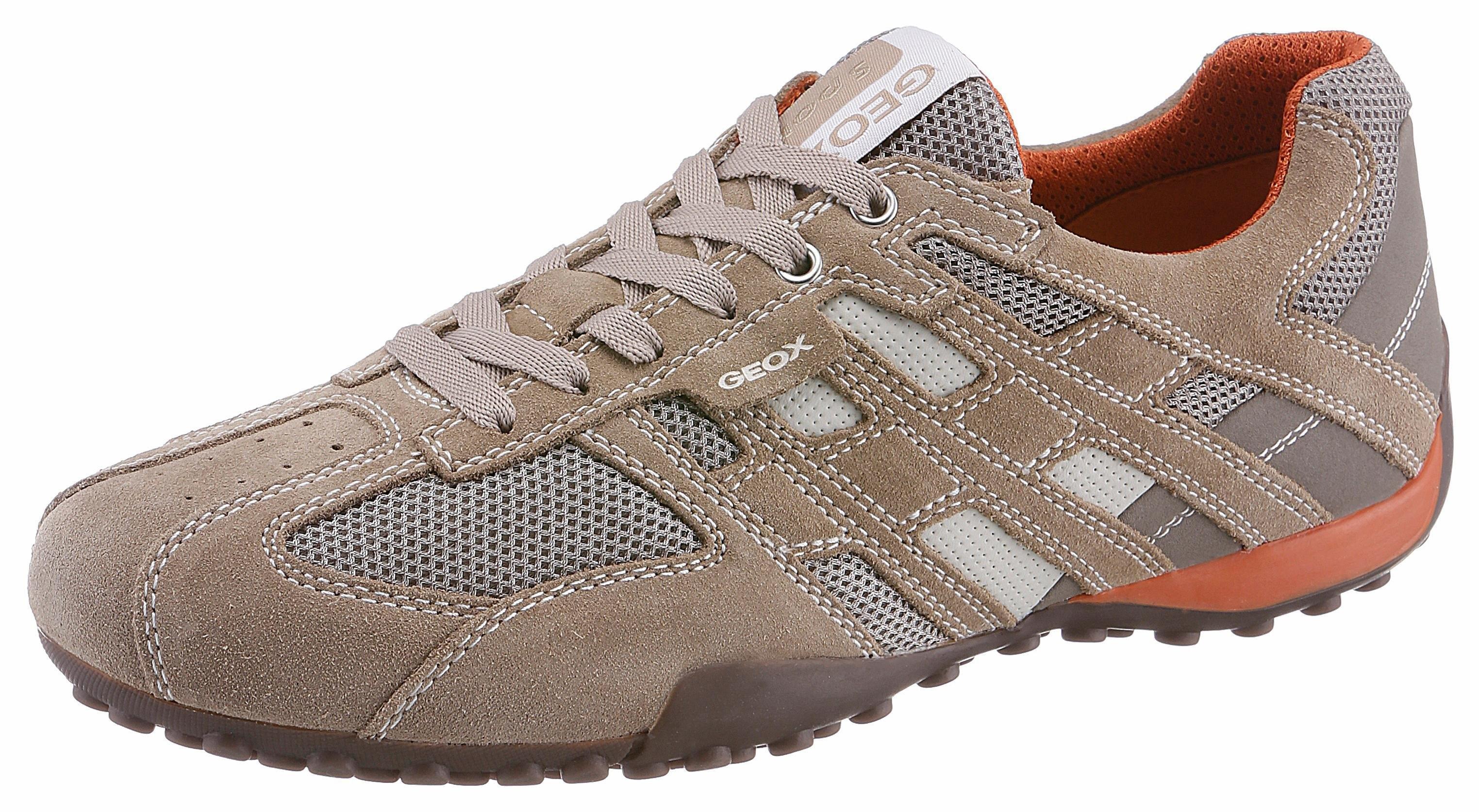 Geox sneakers Snake in een mix van materialen met speciaal geox-membraan voordelig en veilig online kopen