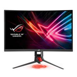 asus full hd-monitor, 68,6 cm (27 inch) »rog strix  xg27vq« grijs
