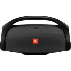 jbl boombox portable luidspreker (bluetooth, 60 w, jbl connect+, sound modus voor in- en outdoor) zwart