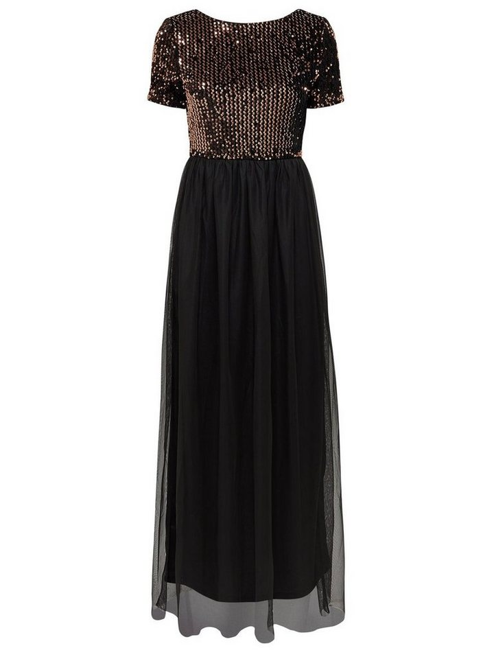 NU 21% KORTING: ONLY Gedetailleerde Maxi jurk zwart