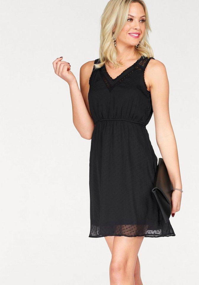 VERO MODA geweven jurk BIANCA zwart