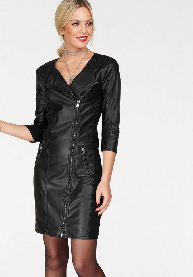 NU 21% KORTING: ONLY feestelijke jurk NEW LINN zwart