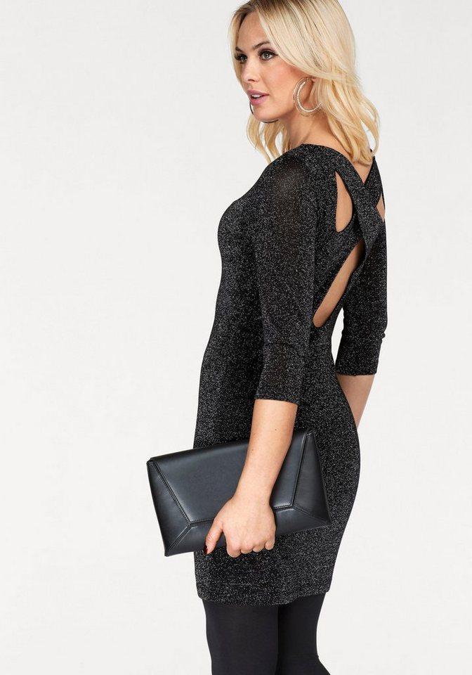 Vero Moda tricotjurk SHINE zwart