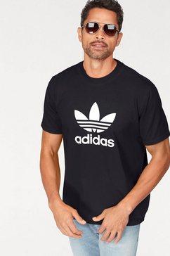 adidas originals t-shirt »trefoil t-shirt« zwart