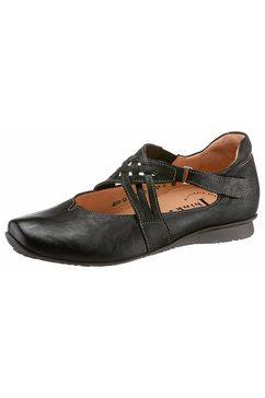 think! ballerina's met riempje zwart