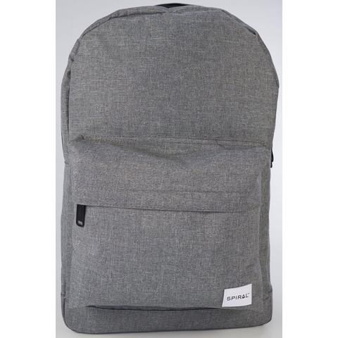 Spiral NU 15% KORTING: Spiral® rugzak met laptopvak, OG Core, charcoal