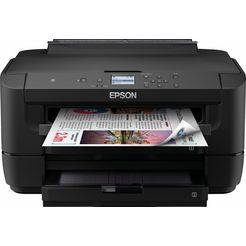 epson »workforce wf-7210dtw« inkjetprinter zwart