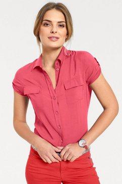 overhemdblouse rood