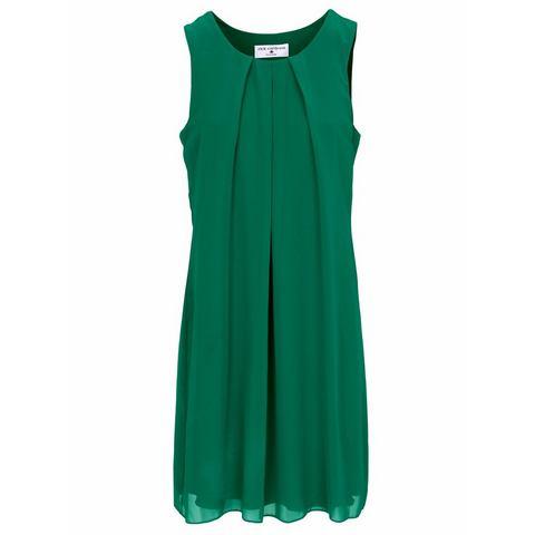chiffonjurk groen