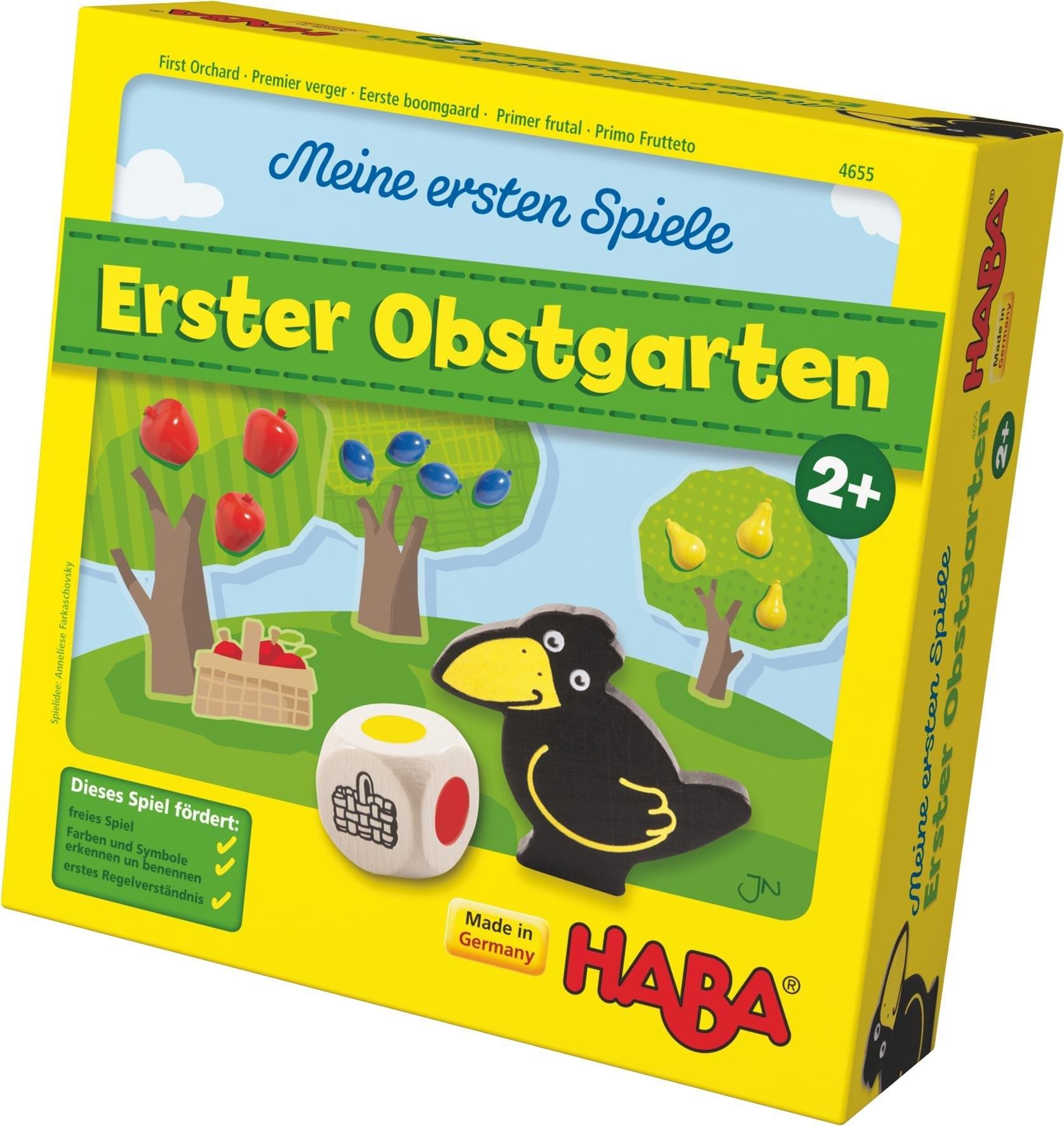 HABA ® kinderspel, »Meine ersten Spiele - Erster Obstgarten« - gratis ruilen op otto.nl