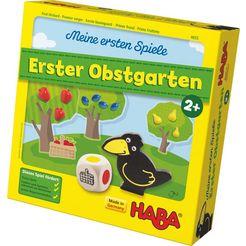 haba »meine ersten spiele - erster obstgarten« spel multicolor