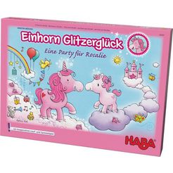 haba kinderspel, »einhorn glitzerglueck - eine party fuer rosalie« multicolor