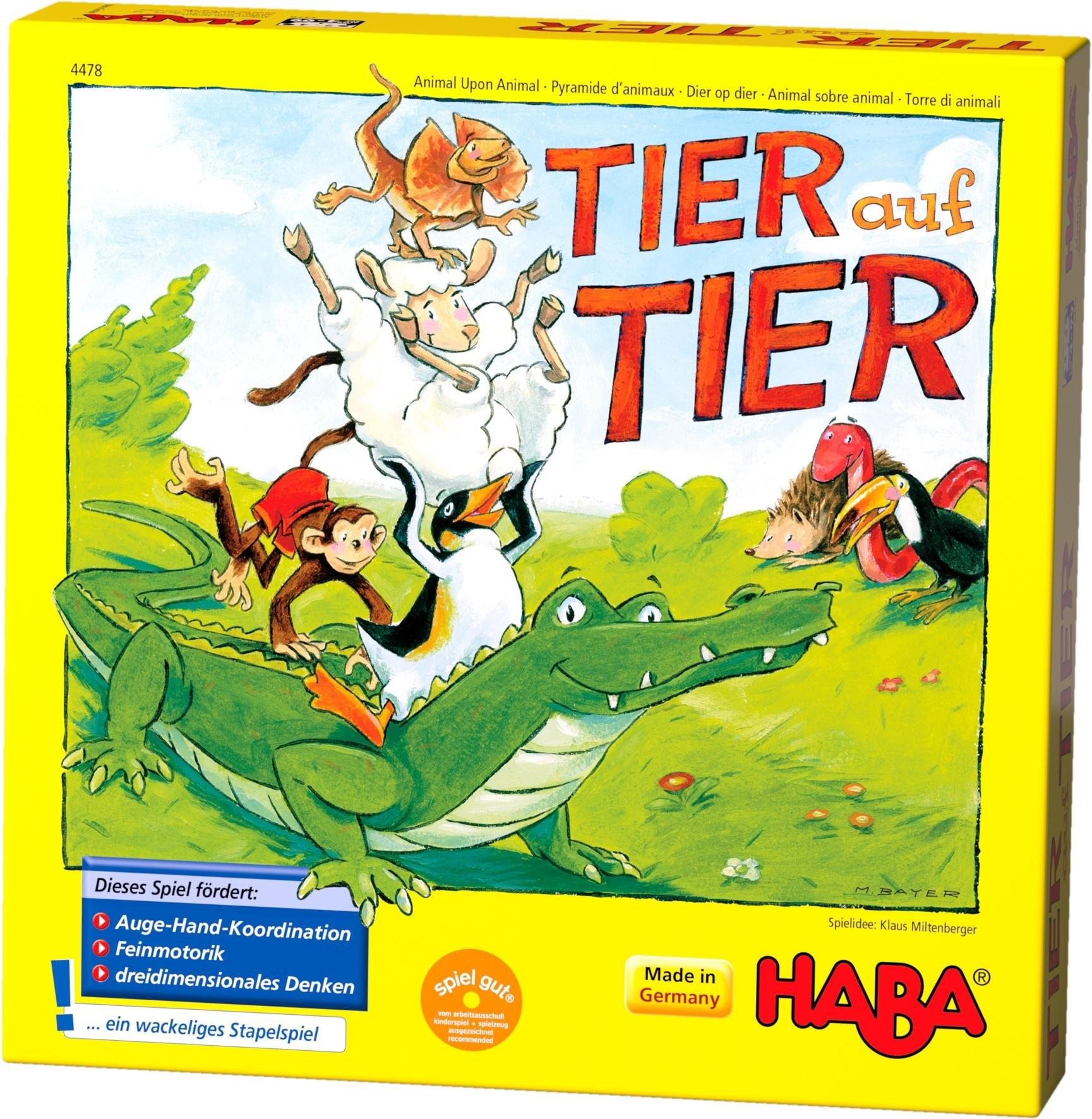 HABA ® kinderspel, »Tier auf Tier« nu online bestellen