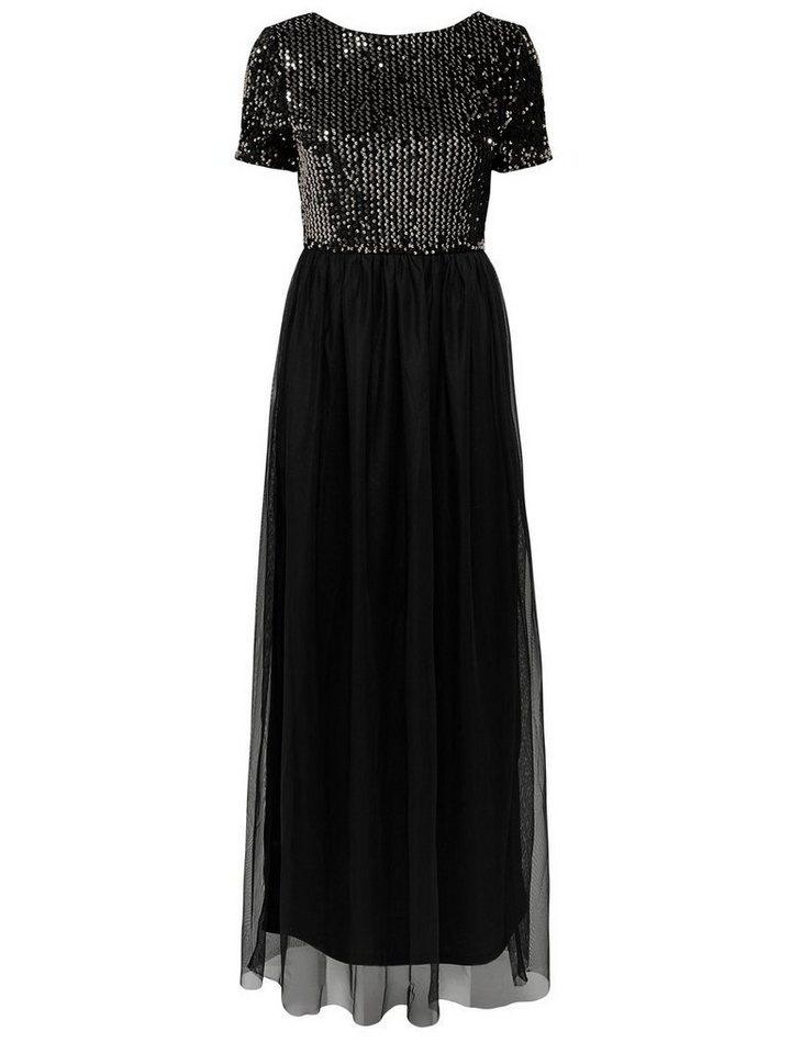 ONLY Gedetailleerde Maxi jurk zwart