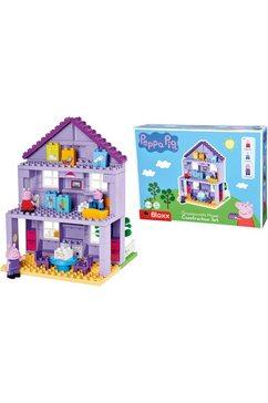 big bouwblokken big-bloxx peppa pig grandpa´s house gemaakt in europa (86 stuks) multicolor