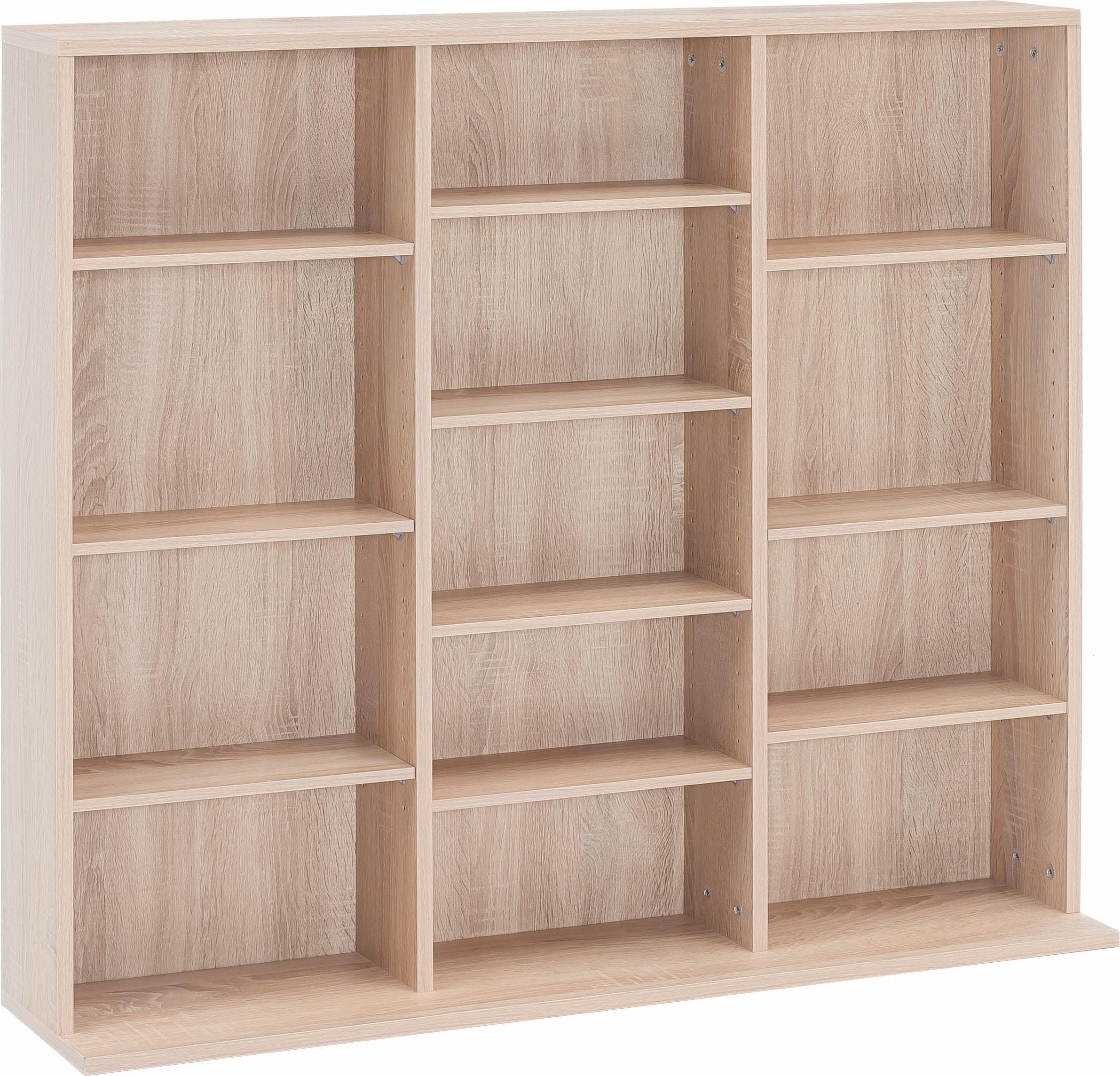 mediameubel met 13 vakken boekenkast