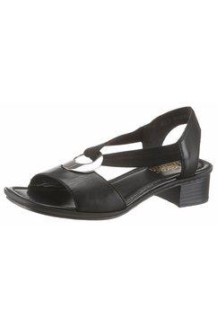 rieker sandaaltjes zwart