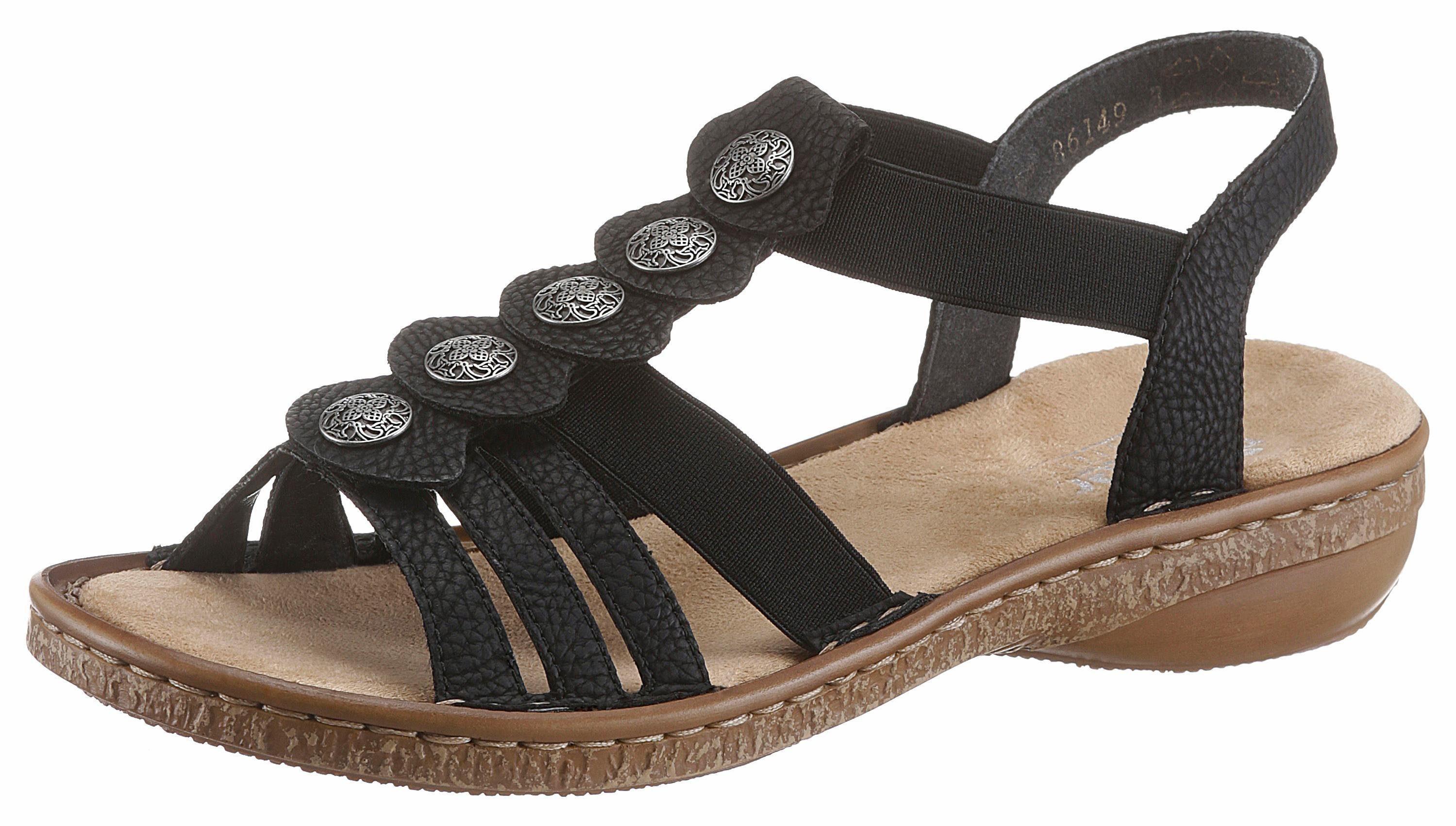 Sandales Rieker Noir 0lNrpc1qr2