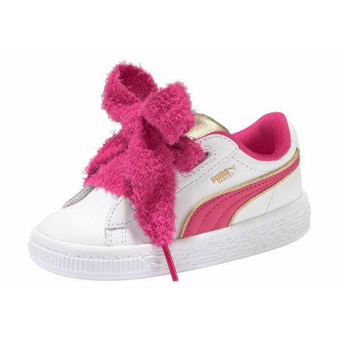 PUMA sneakers Minions Basket Heart Fluffy Inf