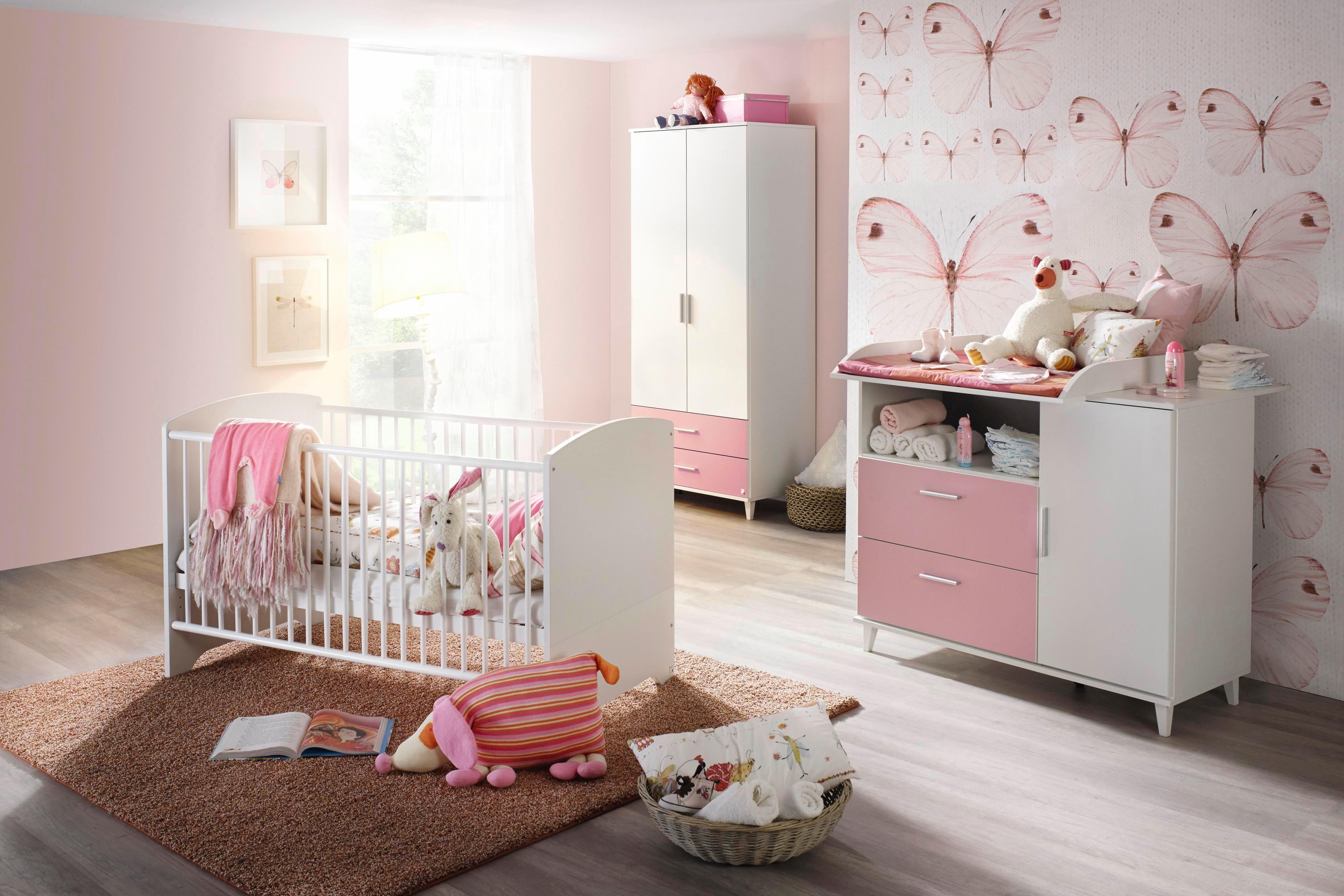 Gordijnen Babykamer Roze : Babykamer nizza roze alpinewit online kopen bekijk nu onze