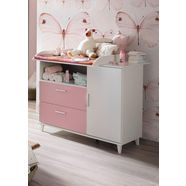 commode »nizza« in roze-alpinewit roze