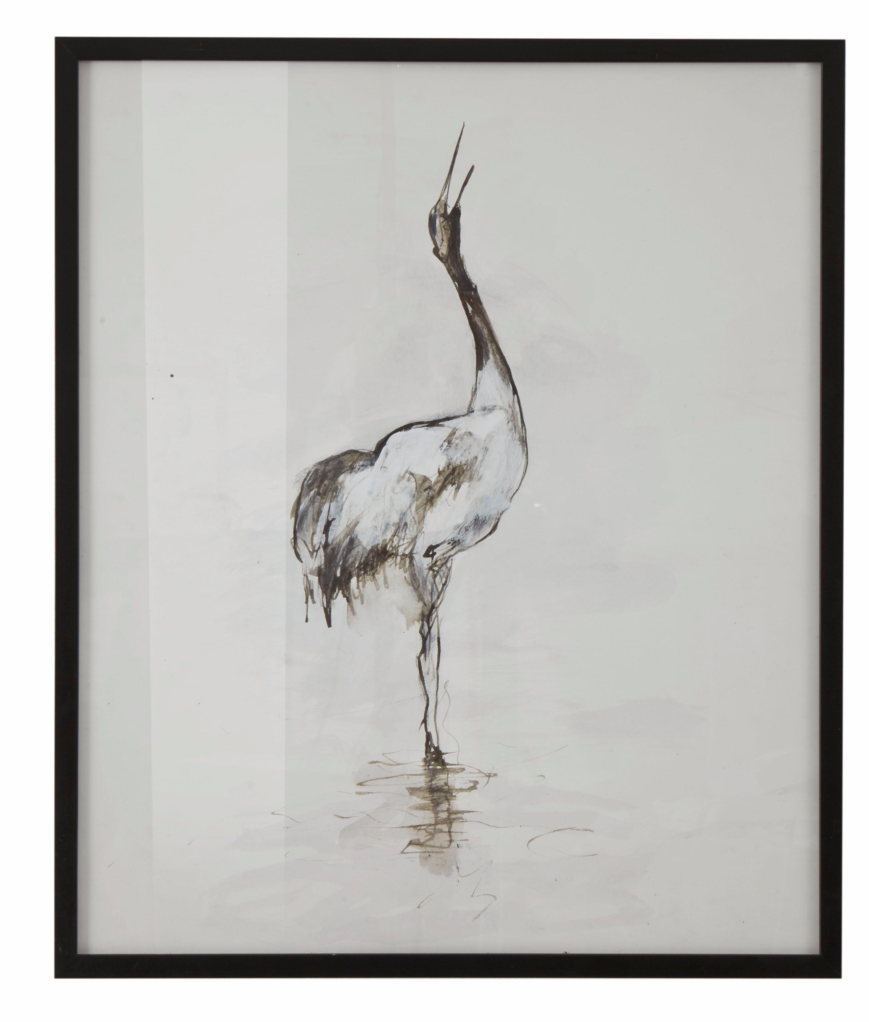 Guido Maria Kretschmer Home&Living wanddecoratie Kraanvogel door frank mutters nu online kopen bij OTTO