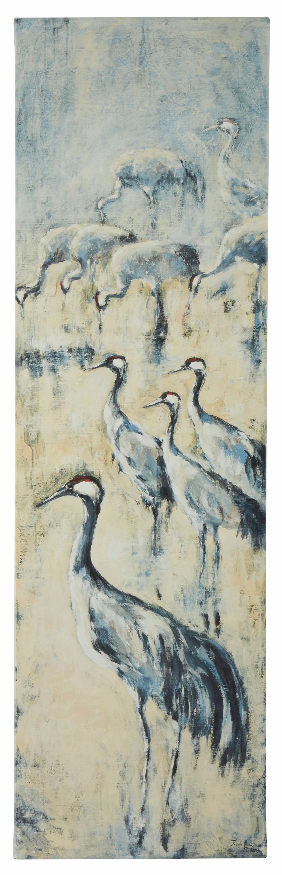 Guido Maria Kretschmer Home&Living wanddecoratie Kraanvogels door frank mutters online kopen op otto.nl