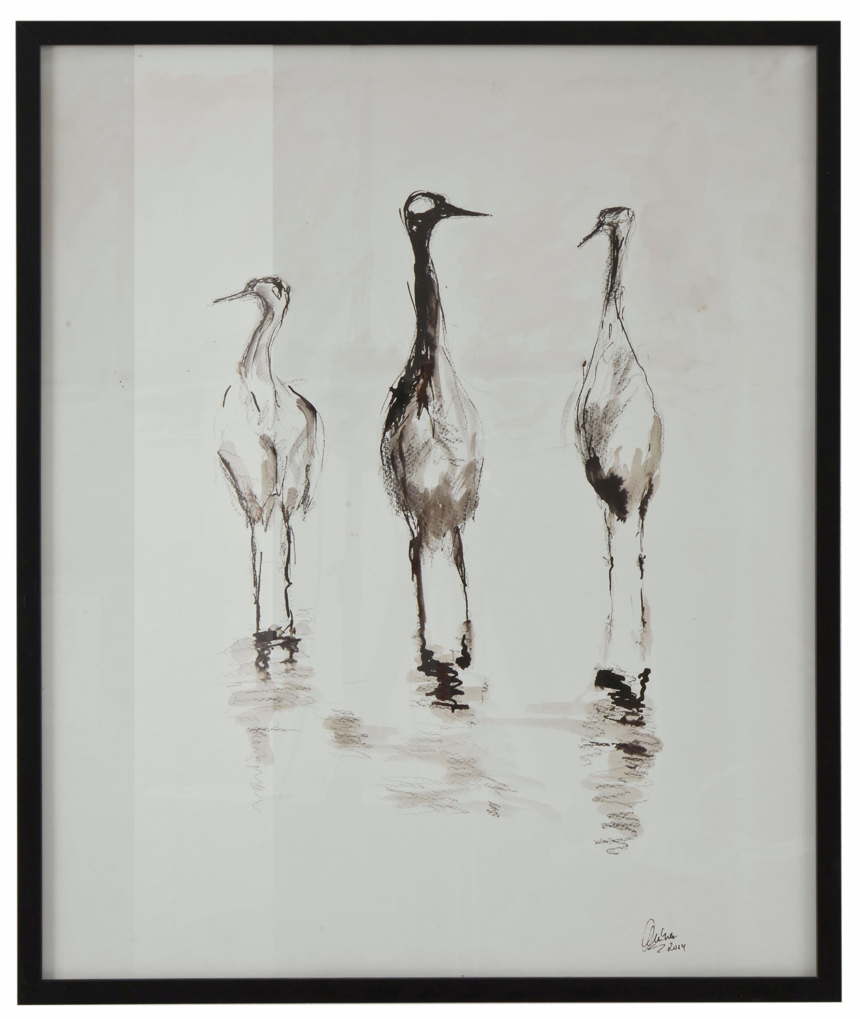 Op zoek naar een Guido Maria Kretschmer Home&Living wanddecoratie Kraanvogel door frank mutters? Koop online bij OTTO