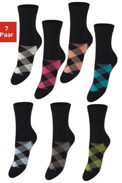 h.i.s sokken (set van 7 paar) zwart