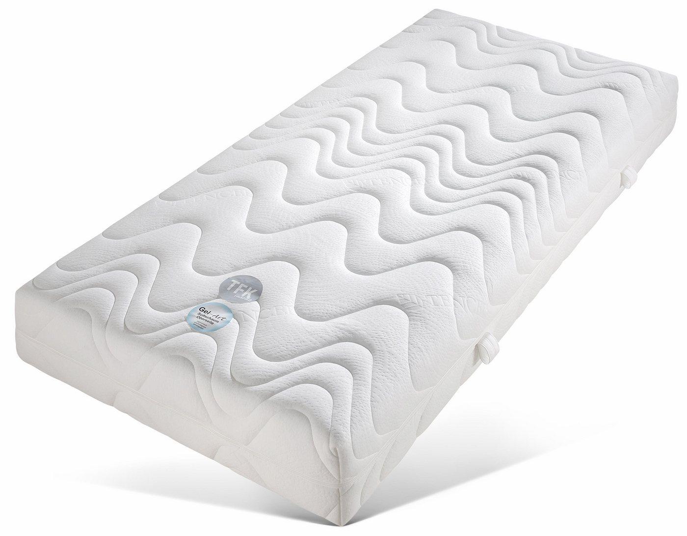 Gelschuim-pocketveringsmatras, TFK Pro Gel Luxus, BECO, 26 cm dik, 400 veren