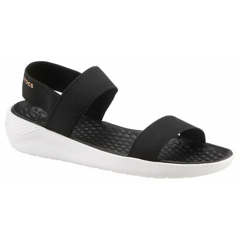 Crocs Sandalen Black-White LiteRide™