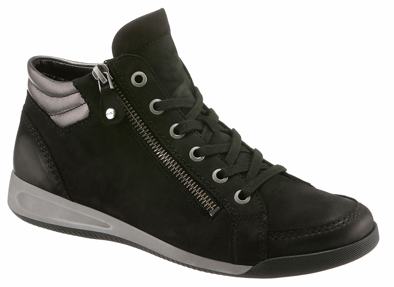 Haute Dentelle Chaussure Noir Ara 7bkd3V1