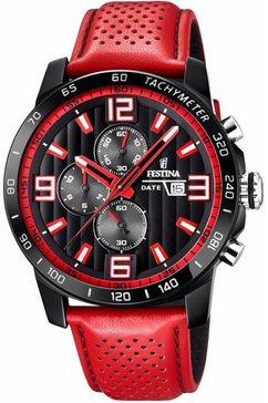 festina chronograaf »f20339-5« rood