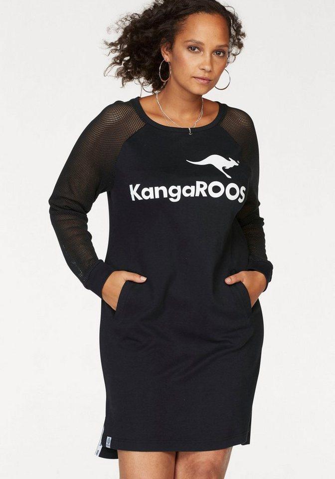 KangaROOS sweatjurk zwart